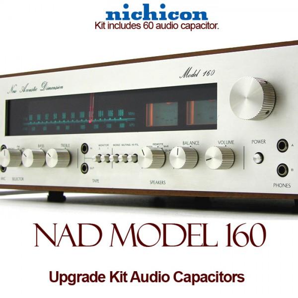 NAD Model 160 Upgrade Kit Audio Capacitors