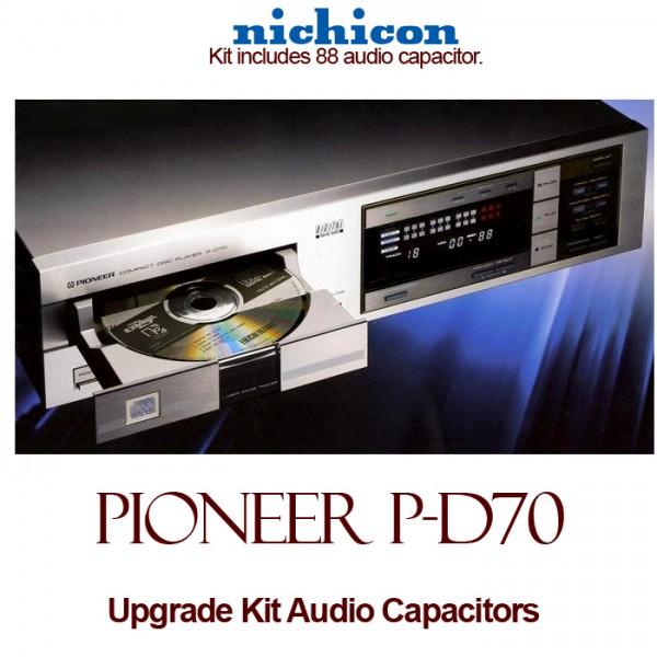 Pioneer P-D70 Upgrade Kit Audio Capacitors
