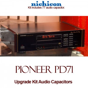 Pioneer PD-71 Upgrade Kit Audio Capacitors