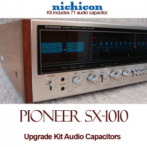 Pioneer SX-1010 Upgrade Kit Audio Capacitors