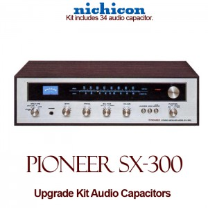 Pioneer SX-300 Upgrade Kit Audio Capacitors