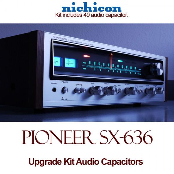 Pioneer SX-636 Upgrade Kit Audio Capacitors