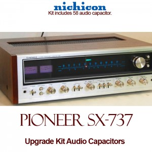 Pioneer SX-737 Upgrade Kit Audio Capacitors