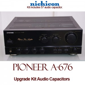 Pioneer A-676 Upgrade Kit Audio Capacitors