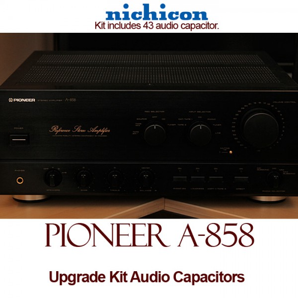 Pioneer A-858 Upgrade Kit Audio Capacitors