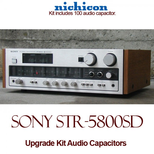 Sony STR 5800SD Upgrade Kit Audio Capacitors