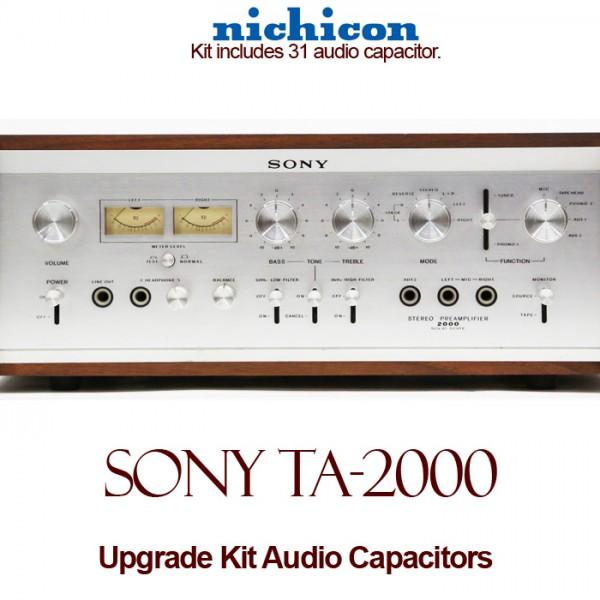 Sony TA-2000 Upgrade Kit Audio Capacitors