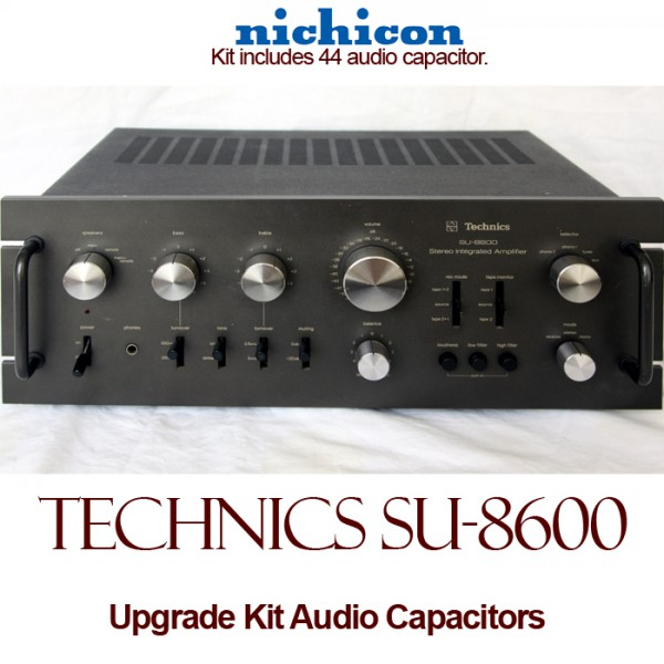 Technics SU-8600 Upgrade Kit Audio Capacitors