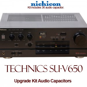 Technics SU-V650 Upgrade Kit Audio Capacitors