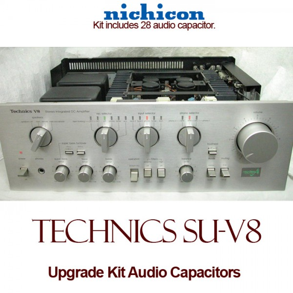 Technics SU-V8 Upgrade Kit Audio Capacitors