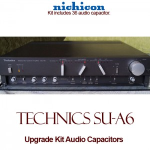 Technics SU-A6 Upgrade Kit Audio Capacitors