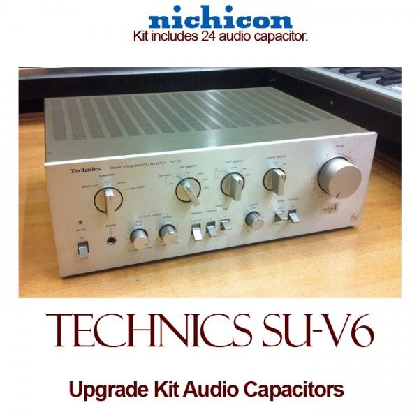 Technics SU-V6 Upgrade Kit Audio Capacitors