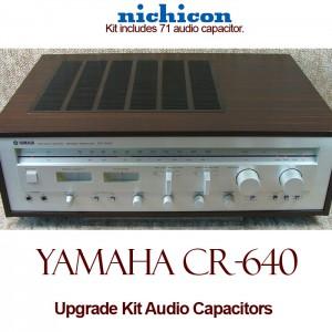 Yamaha CR-640 Upgrade Kit Audio Capacitors