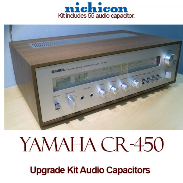 Yamaha CR-450 Upgrade Kit Audio Capacitors