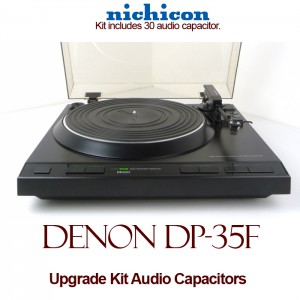 Denon DP-35F Upgrade Kit Audio Capacitors
