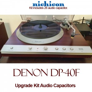 Denon DP-40F Upgrade Kit Audio Capacitors