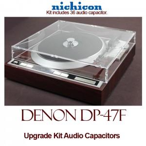 Denon DP-47F Upgrade Kit Audio Capacitors