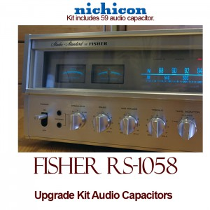 Fisher RS-1058 Upgrade Kit Audio Capacitors