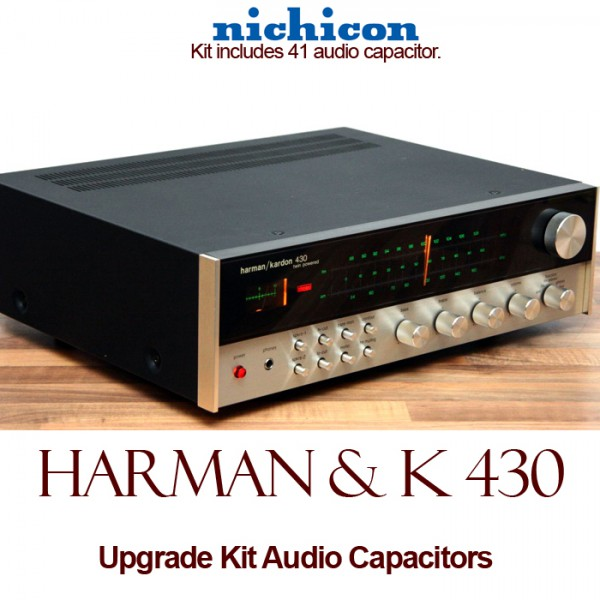 Harman Kardon 430 Upgrade Kit Audio Capacitors