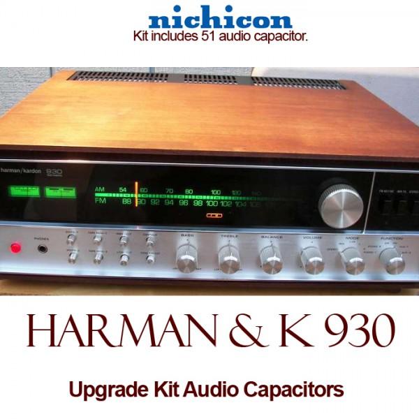 Harman Kardon 930 Upgrade Kit Audio Capacitors