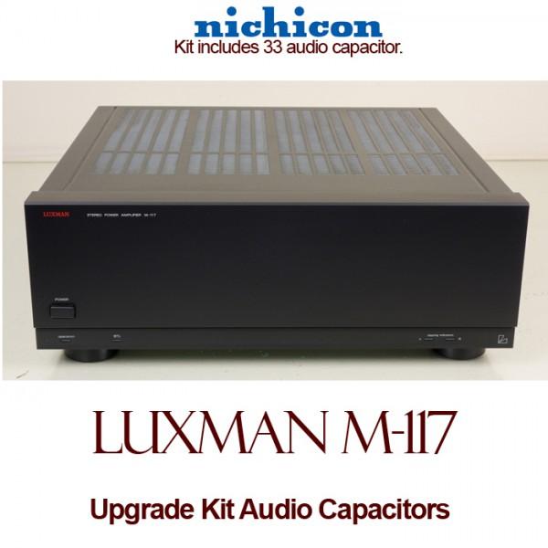 Luxman M-117 Upgrade Kit Audio Capacitors