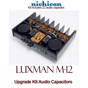 Luxman M-12 Upgrade Kit Audio Capacitors