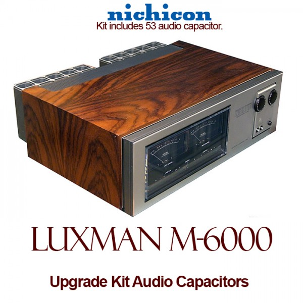 Luxman M-6000 Upgrade Kit Audio Capacitors
