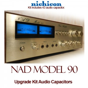 NAD Model 90 Upgrade Kit Audio Capacitors