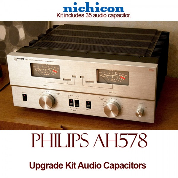 Philips AH578 Upgrade Kit Audio Capacitors