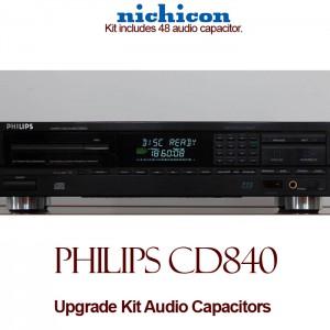 Philips CD840 Upgrade Kit Audio Capacitors