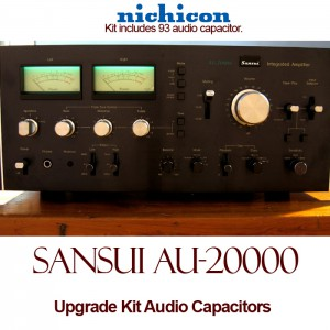 Sansui AU-20000 Upgrade Kit Audio Capacitors
