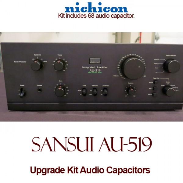 Sansui AU-519 Upgrade Kit Audio Capacitors