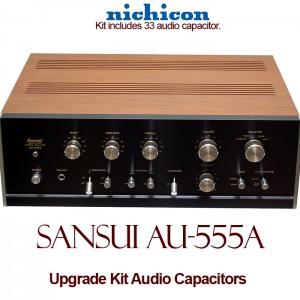 Sansui AU-555A Upgrade Kit Audio Capacitors