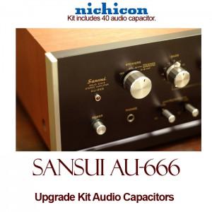 Sansui AU-666 Upgrade Kit Audio Capacitors