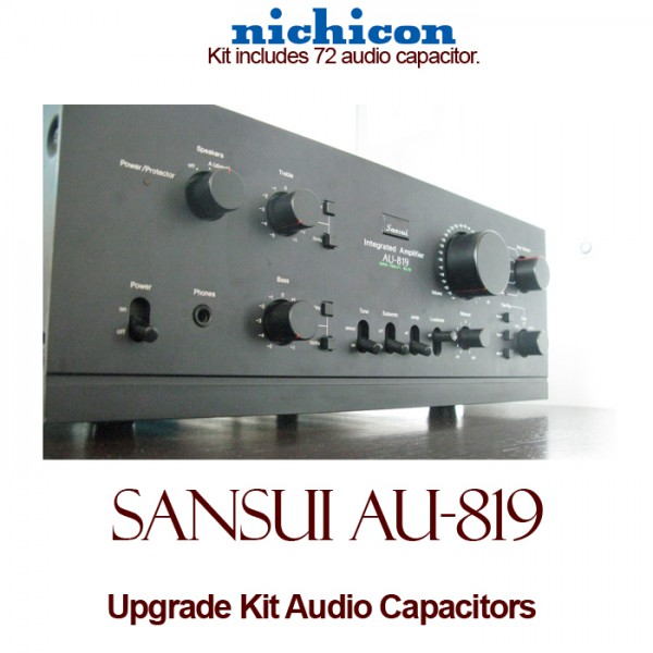 Sansui AU-819 Upgrade Kit Audio Capacitors
