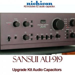 Sansui AU-919 Upgrade Kit Audio Capacitors