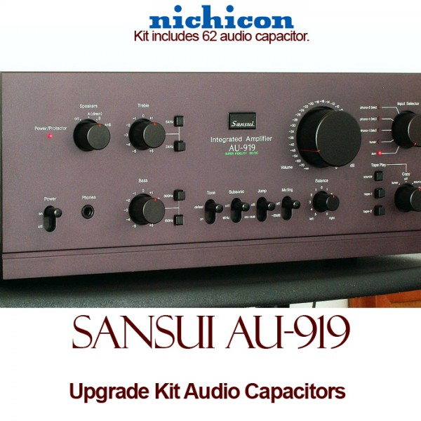 Sansui AU-919 Upgrade Kit Audio Capacitors