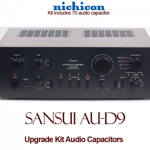 Sansui AU-D9 Upgrade Kit Audio Capacitors