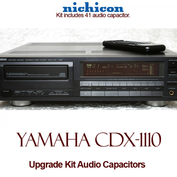Yamaha CDX-1110 Upgrade Kit Audio Capacitors