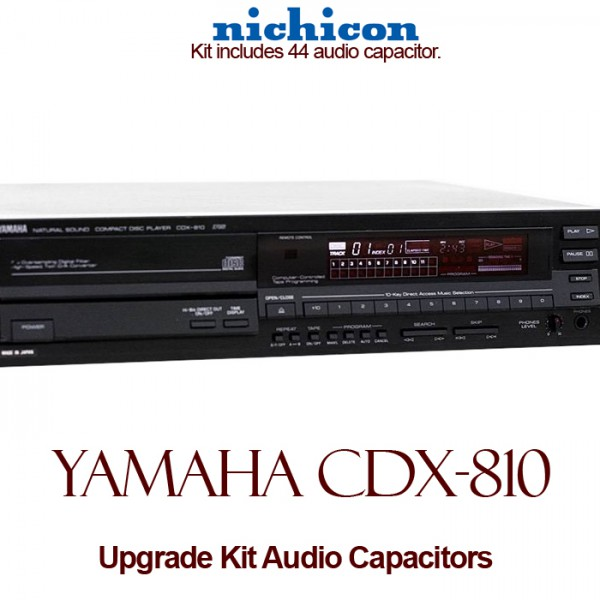 Yamaha CDX-810 Upgrade Kit Audio Capacitors
