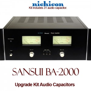 Sansui BA-2000 Upgrade Kit Audio Capacitors