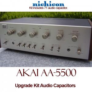 Akai AA-5500 Upgrade Kit Audio Capacitors