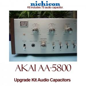 Akai AA-5800 Upgrade Kit Audio Capacitors