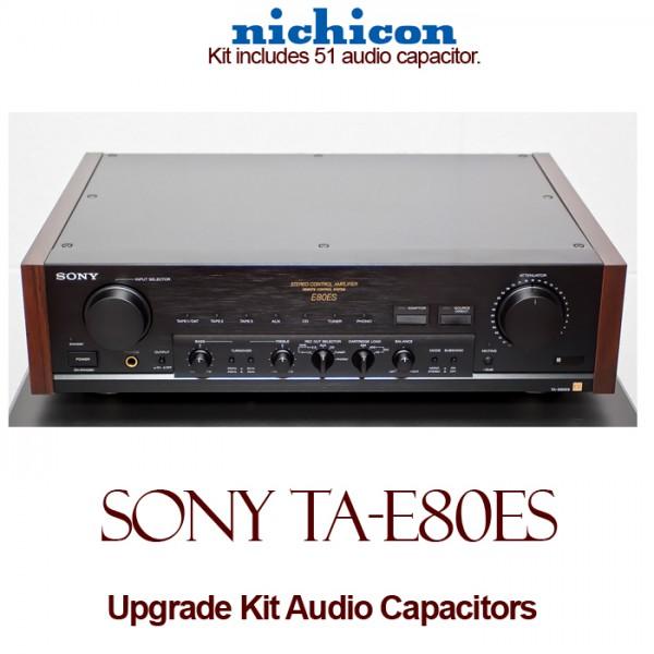 Sony TA-E80ES Upgrade Kit Audio Capacitors