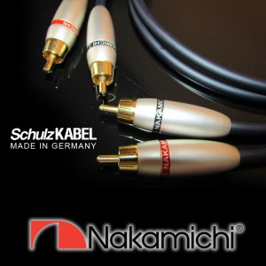 SCHULZ-Kabel SilverLine / Nakamichi RCA Audio High End Cables 1m