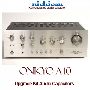 Onkyo A-10 Upgrade Kit Audio Capacitors
