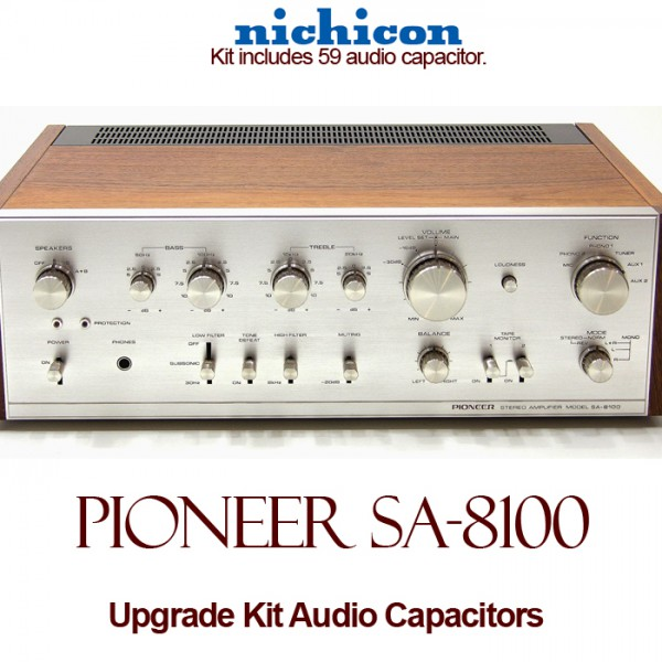 Pioneer SA-8100 Upgrade Kit Audio Capacitors