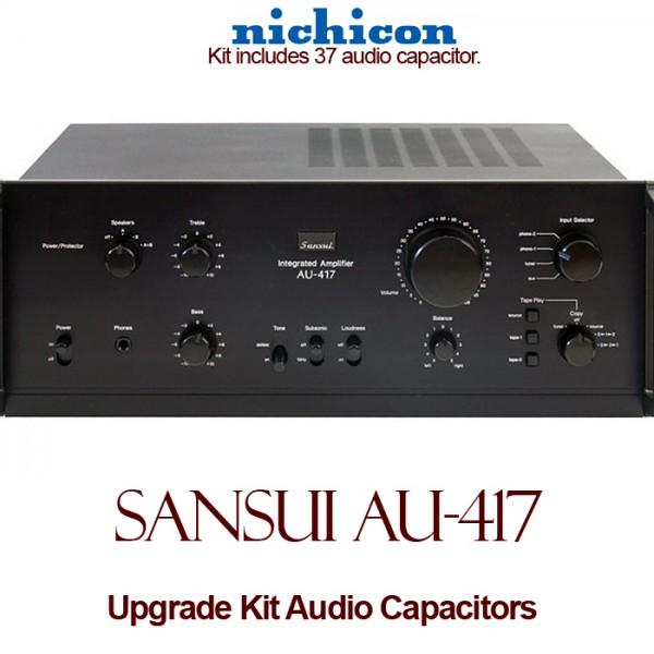 Sansui AU-417 Upgrade Kit Audio Capacitors