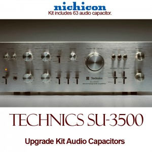 Technics SU-3500 Upgrade Kit Audio Capacitors