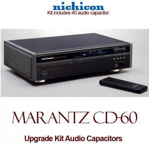 Marantz CD-60 Upgrade Kit Audio Capacitors